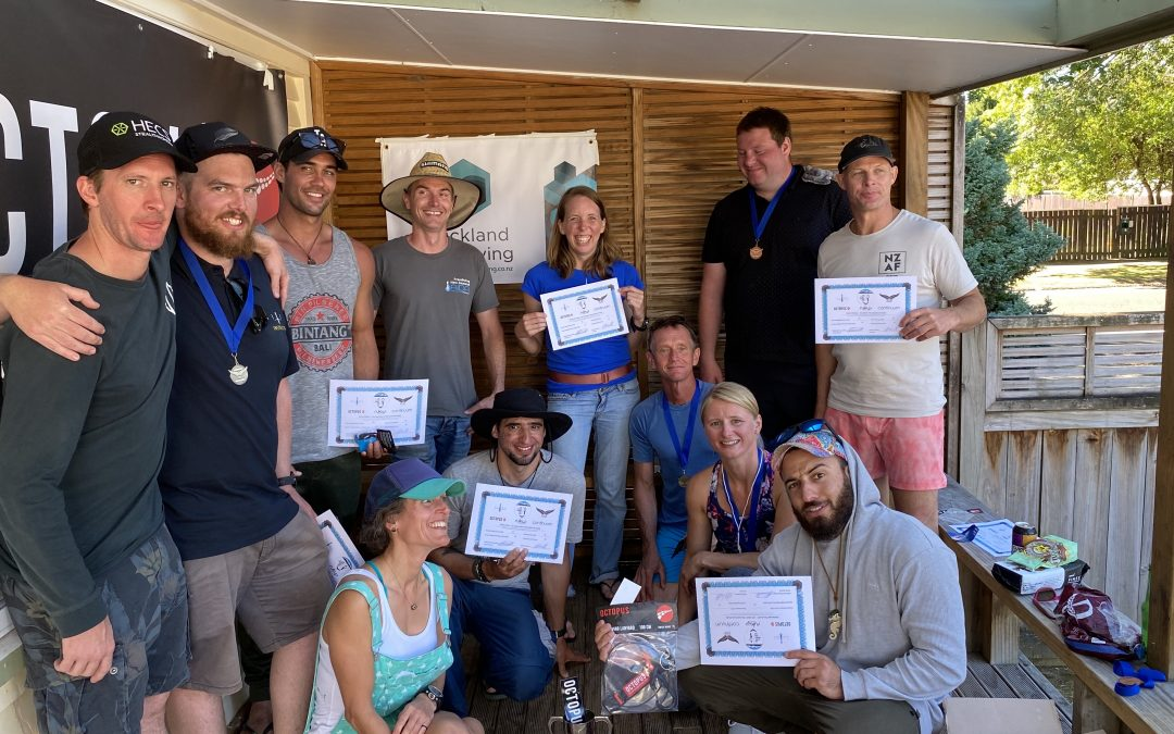 Freediving New Zealand Depth Nationals 2020
